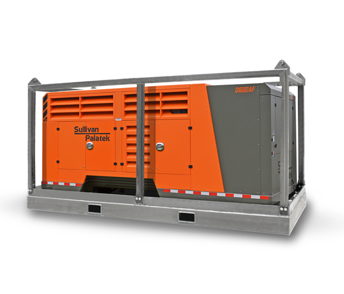 Offshore Diesel Screw Compressor
