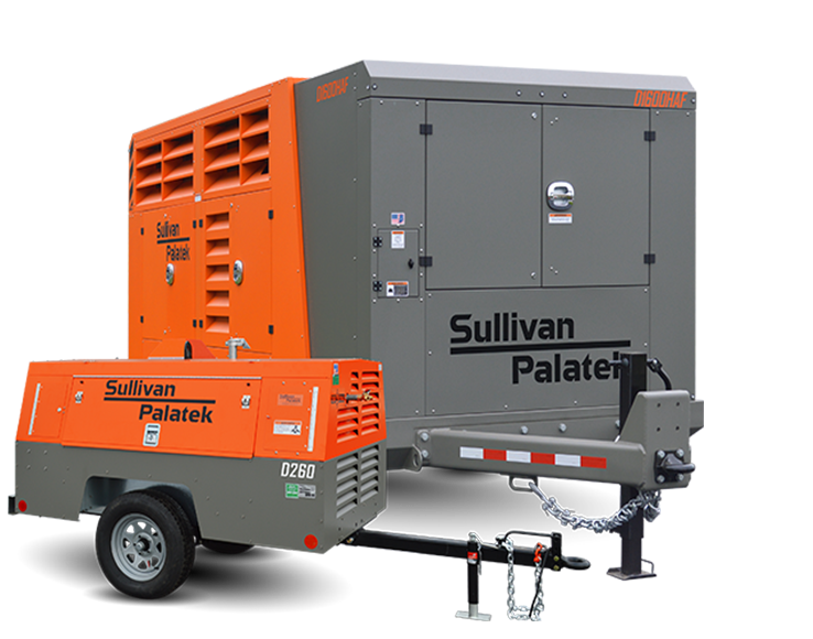 Portable Diesel Rotary Screw Compressor