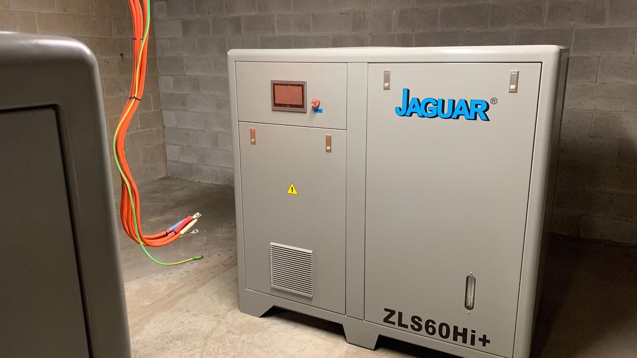 ZLS-60 Hi + Jaguar Permanent Magnet Screw Compressors-Starting electrical connections