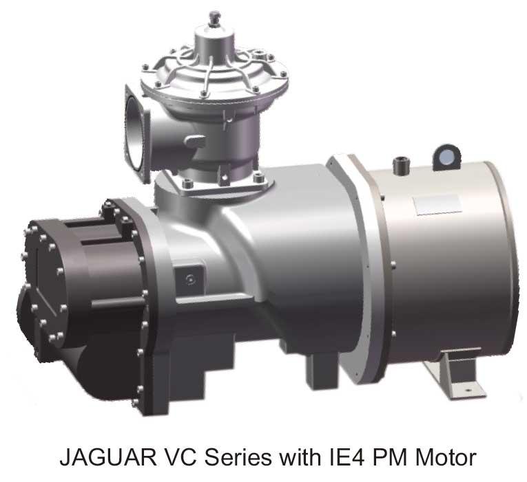 Jaguar VC Series with IE4 PM Motor