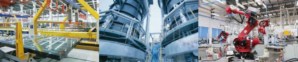 Commercial factories